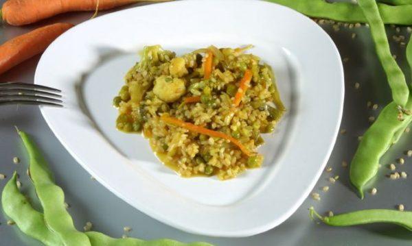 fase 2 de la dieta de arroz