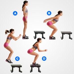 ejercicio pliométrico 8